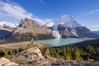 Berg Lake, British Columbia, Canada, Mount Robson Provincial Park, BC