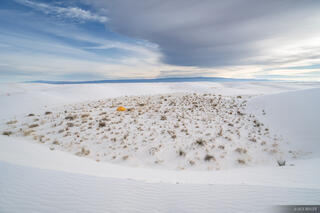 New Mexico, White Sands National Monument, tent, Dunes