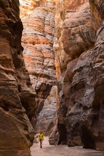 Eardley Canyon, San Rafael Swell, Utah, hiking