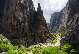 Black Canyon of the Gunnison, Gunnison River, Painted Wall, May, Colorado, SOB Draw, S.O.B Draw