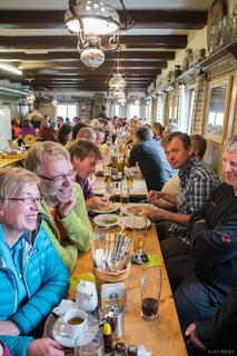 Dinnertime at the Falkenhütte