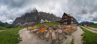 Falkenhütte Patio Pano