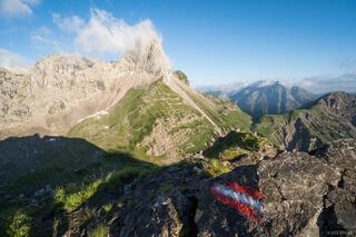 Austria, Karwendel, Lamsenjochhütte, Lamsenspitze, Alps