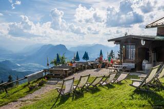 Austria, Kaisergebirge, Vorderkaiserfeldenhütte, hut, Kufstein