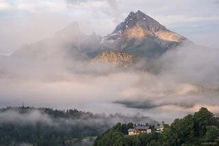 Berchtesgaden, Europe, Germany, Watzmann, Alps