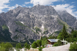 Berchtesgaden, Europe, Germany, Wimbachgrieshütte, hut