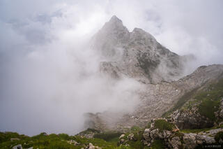 Hachelkopf in the Clouds