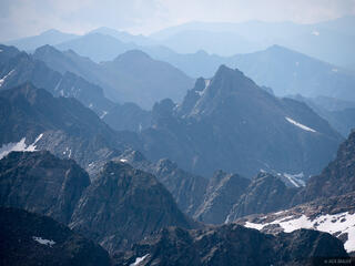 Colorado, Gore Range, Mount Powell, Eagles Nest Wilderness