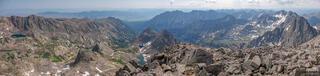 Colorado, Gore Range, Mount Powell, Eagles Nest Wilderness