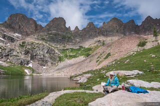 Colorado, Gore Range, Willow Lakes, Eagles Nest Wilderness, Zodiac Ridge