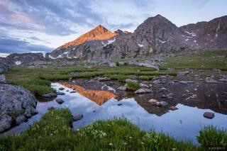 Colorado, Holy Cross Wilderness, Sawatch Range, reflection
