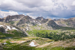Colorado, Fancy Pass, Holy Cross Wilderness, Treasure Vault Lake, Sawatch Range