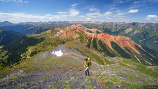 Brown Mountain, Colorado, Red Mountain, San Juan Mountains, hiking