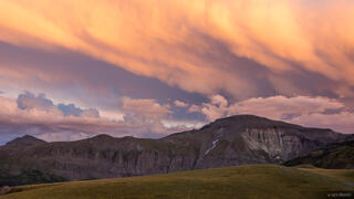 Colorado, San Juan Mountains, sunset, clouds