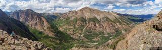 Colorado, San Juan Mountains, Sunshine Peak, 14er