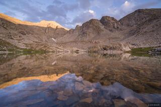 Colorado, Ellingwood Point, Sangre de Cristos, South Zapata Lake, reflection, 14er, Sangre de Cristo Wilderness
