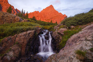Crestone Needle Waterfall