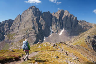 Colorado, Crestone Needle, Crestone Peak, Humboldt Peak, Sangre de Cristos, 14er, hiking, Sangre de Cristo Wilderness
