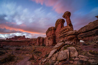 Canyonlands National Park, Peakaboo, Salt Creek, Utah, November