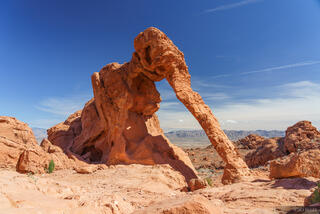 Elephant Arch, Nevada, Valley of Fire, arch