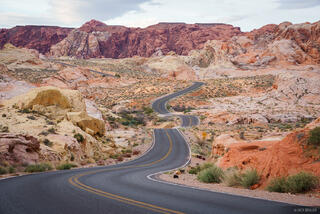 Nevada, Valley of Fire, White Domes Road