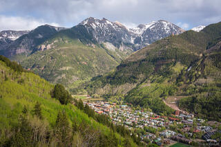 Colorado, San Juan Mountains, Telluride
