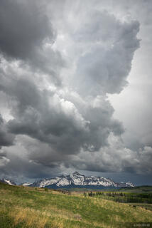 Colorado, San Juan Mountains, 14er, San Miguel Mountains, clouds, Wilson Peak
