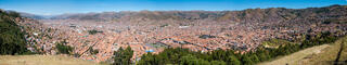 Cusco, Peru, South America, panorama