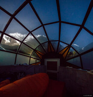 Cordillera Vilcabamba, Nevado Tucarhuay, Peru, South America, domes