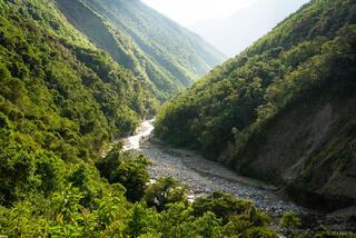 Cordillera Vilcabamba, Peru, Rio Santa Teresa, South America, river