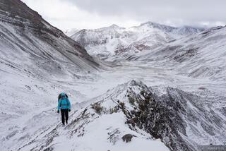 Ausangate, Auzangatecocha, Cordillera Vilcanota, Peru, South America, hiking