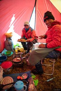 Ausangate, Cordillera Vilcanota, Hector, Peru, South America, tent