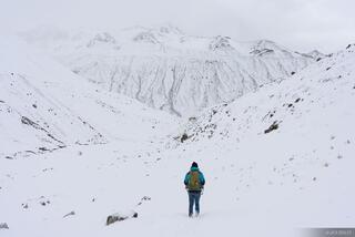Ausangate, Cordillera Vilcanota, Pampacancha, Peru, South America, hiking