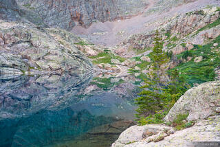 Colorado, Needle Mountains, San Juan Mountains, Weminuche Wilderness, reflection