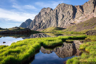 Colorado, Mount Silex, San Juan Mountains, Storm King, Weminuche Wilderness, reflection, Grenadier Range
