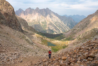 Animas Mountain, Colorado, Needle Mountains, San Juan Mountains, Weminuche Wilderness, hiking