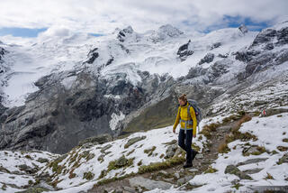 Bernina Range, Rhaetian Alps, Switzerland, hiking