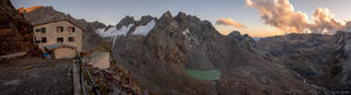 Bernina Range, Cime di Musella, Italy, Rhaetian Alps, Rifugio Marinelli Bombardieri, hut