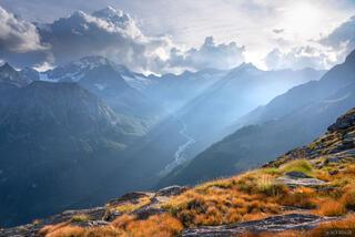 Bernina Range, Italy, Monte Disgrazia, Rhaetian Alps
