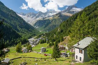 Bernina Range, Chiareggio, Italy, Rhaetian Alps, Val Malenco