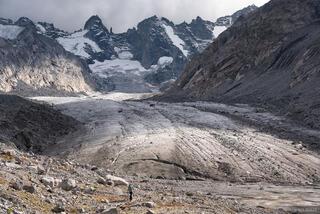 Bernina Range, Forno Glacier, Rhaetian Alps, Switzerland, Vadret de Forno