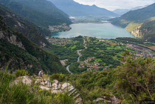 Italy, Lago di Mezzola, Novate Mezzola, Rhaetian Alps