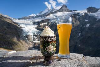 Bernese Alps, Glecksteinhütte, Schreckhorn, Switzerland, beer, Bernese Oberland, Alps