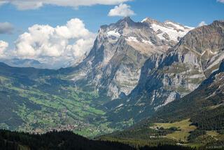 Bernese Alps, Grindelwald, Kleine Scheidegg, Switzerland, Wetterhorn, Bernese Oberland, Alps