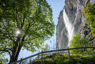 Bernese Alps, Lauterbrunnen, Lauterbrunnental, Staubbachfall, Switzerland, waterfall, Bernese Oberland, Alps