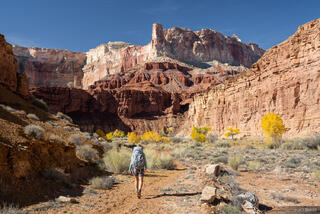 San Rafael Swell, Utah, hiking