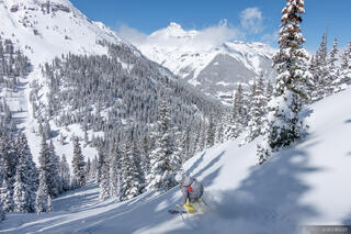 Colorado, Potosi Peak, San Juan Mountains, Sneffels Range, skiing, potosi