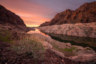 Lake Mead, Nevada, Pinto Valley Wilderness, Mojave Desert, Lake Mead National Recreation Area
