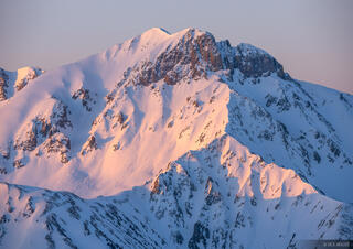 Colorado, San Juan Mountains, Sultan Mountain, sunrise