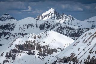 Sneffels from Telluride Peak
